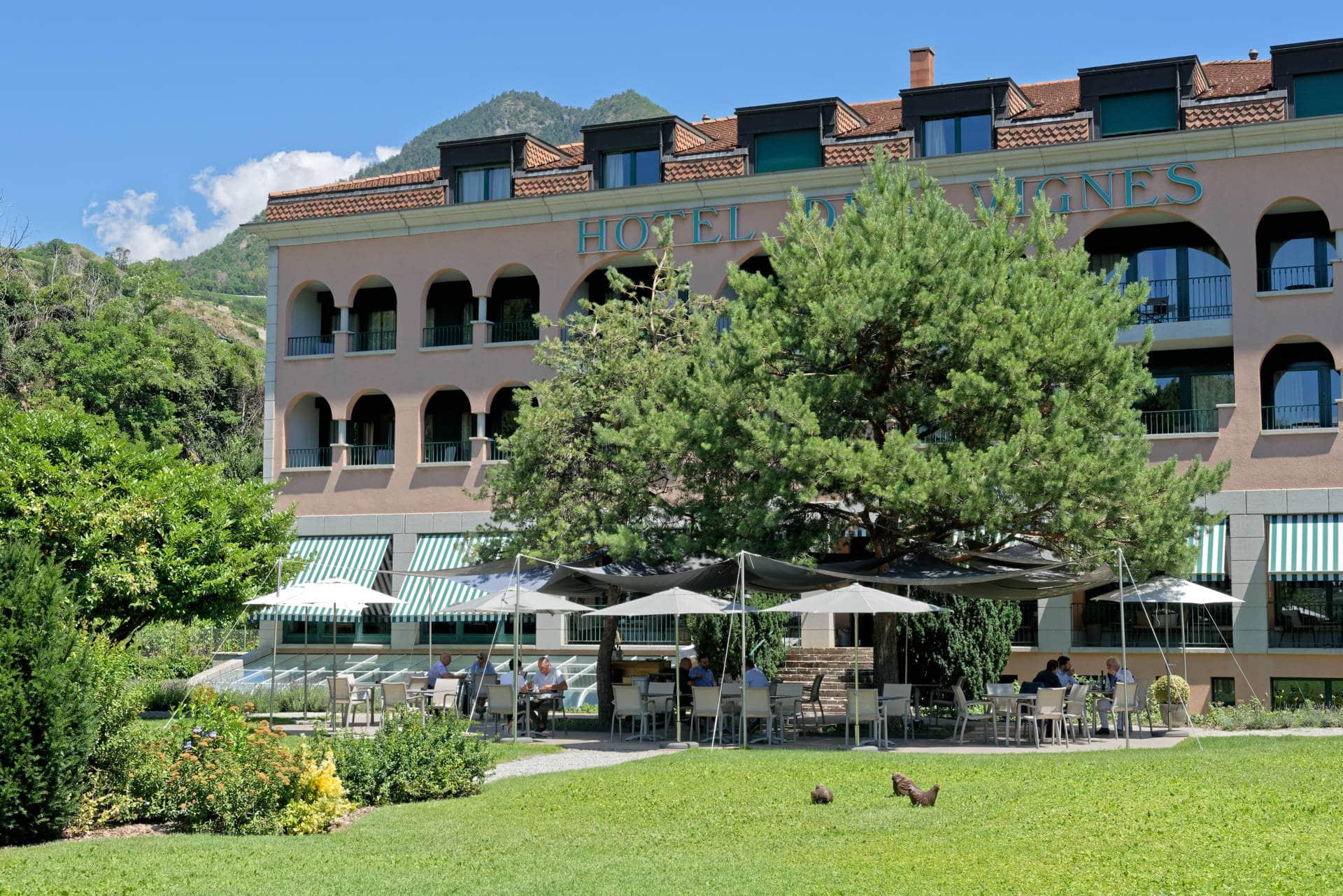 Hôtel Sion - Terrasse